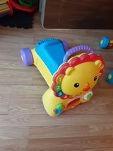 Fisherprice Three in One Ride On Lion in Kingwood, Texas
