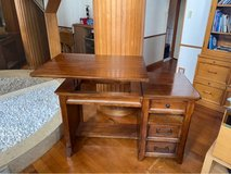 Desk (Real Wood) With lift top in Okinawa, Japan