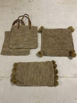New Rattan bags or cushion cover in Okinawa, Japan