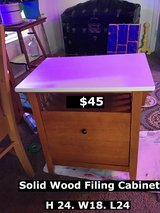 Solid Wood Filing Cabinet in Hopkinsville, Kentucky