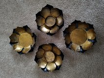 Metal Lotus Tealight/Pillar Candle Holders in Fort Campbell, Kentucky