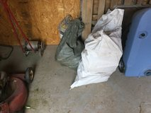 Two bags of campfire wood in Alamogordo, New Mexico
