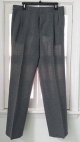 Vintage Men's Grey and Black Dress Slacks in Batavia, Illinois