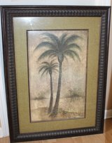 """Large Palm Tree Decorative Picture Art Work Room Decor 29.5"""" x 39.5"""" in Sandwich, Illinois"""