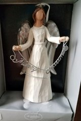 Christmas Holiday Angel Ornament in Yorkville, Illinois
