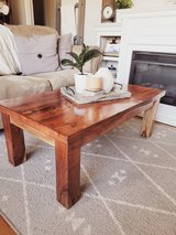 Rustic coffee table in Fort Campbell, Kentucky