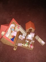 Sylvianian family house and toys1985 vintage in Plainfield, Illinois