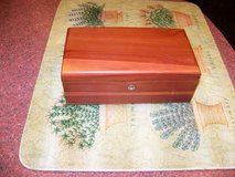 Vintage Lane Cedar Jewelry Trinket Box in Chicago, Illinois