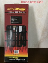 BBQ Tool Set. Is great for picnic/ camping in Okinawa, Japan