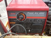 Lincoln power arc 4000 portable ac generator-ac stick welder with cart in Fort Campbell, Kentucky
