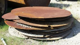 steel plate septic tank lid in Cleveland, Texas