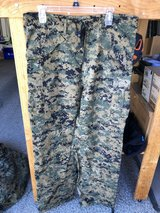 New USMC CIF Issued Woodland Marpat Goretex Trousers Medium Long ML in Oceanside, California