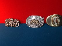CHOICE OF METAL BELT BUCKELS in St. Charles, Illinois