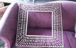 Metal spiral picture frame in Kingwood, Texas