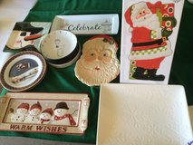 Christmas Plates, Cookie Plates, Appetizer Plates, Serving Dishes in Sandwich, Illinois