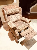 reclining wing chair from Bassett in Tacoma, Washington