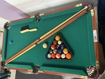 Tabletop pool table in Beaufort, South Carolina