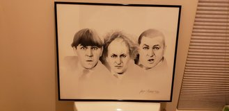 Three Stooges Lithograph (rare) in Vista, California