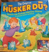 Husker Du Matching game in Plainfield, Illinois