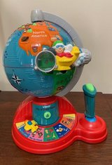 Vtech Fly and Learn Globe in Plainfield, Illinois