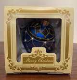 Blue and Pearl Holiday Ornament in Plainfield, Illinois