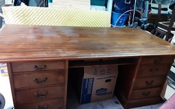 Large Wooden desk ( not particle board) in Kingwood, Texas