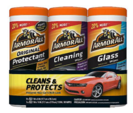 Armor All 3 Pack Cleaning Wipes- NEW in package. in Westmont, Illinois