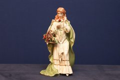 FRANKLIN MINT PORCELAIN MUSICAL FIGURINE ROSE OF TRALEE WITH PAPERWORK in Fairfield, California
