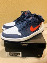 Jordan 1 Low retro Navy/Red size 10.5 in Fairfield, California