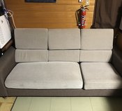 Grey couch, very light weight in Okinawa, Japan