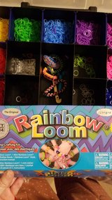 Rainbow loom with bands in Spring, Texas