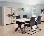 United Furniture - Dining Set Ibe China with Lights - Table 180cm x 100cm -4 Chairs incl del in Grafenwoehr, GE