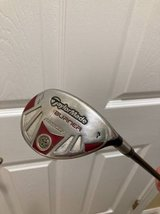 Taylor Made Burner #4 Rescue 22* with Burner Golf Towel  (Reduced Price) in Cherry Point, North Carolina