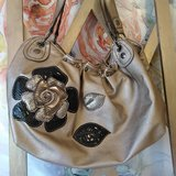 Relic metallic taupe purse in Alamogordo, New Mexico