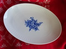 old plate - big size - bavarian porcelain - like new in Ramstein, Germany