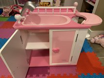 Doll Our Generation Baby American Girl Doll Changing Station Bed in Bolingbrook, Illinois
