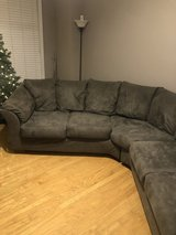 2 piece sectional couch in Warner Robins, Georgia