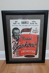 Frank Yankovic The Polka King Autographed Poster in Bartlett, Illinois