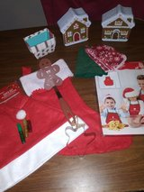 Kids Christmas Gingerbread gift lot in The Woodlands, Texas