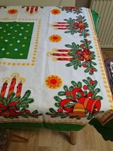 2x small tablecloth from Germany - chrismas in Ramstein, Germany