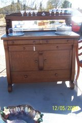 Antique Sideboard Buffet Server in Yucca Valley, California