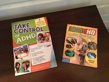 LIKE NEW 2 Paperback Books for Kids on ADHD in Naperville, Illinois