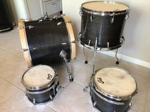 CONAWAY DRUM SET - Custom Shell Pack by Dave Conaway in Kingwood, Texas