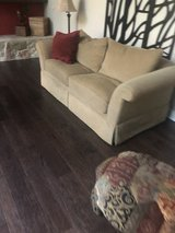 Pair of Swaim loveseat couches in Sugar Land, Texas