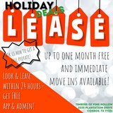 Immediate move ins & up to ONE MONTH FREE! LEASE NOW & get awesome move in deals! in Conroe, Texas