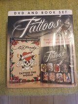 Ed Hardy Tattoo Dvd & Book (Packaging Not Perfect) in Lakenheath, UK