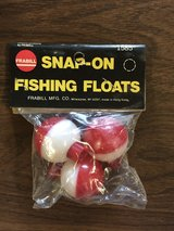 Snap-on Fishing Floats - NEW in Joliet, Illinois