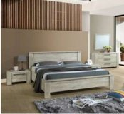 United Furniture - Ivy Full Size Bed with Mattress including delivery in Ramstein, Germany