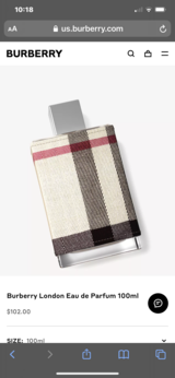 NEW...Burberry London For Her Perfume in The Woodlands, Texas