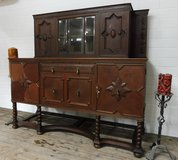 Antique Highboard China Cabinet Buffet or Linen Cabinet in Ramstein, Germany